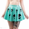 "Latex circle skirt ""Roswell"""