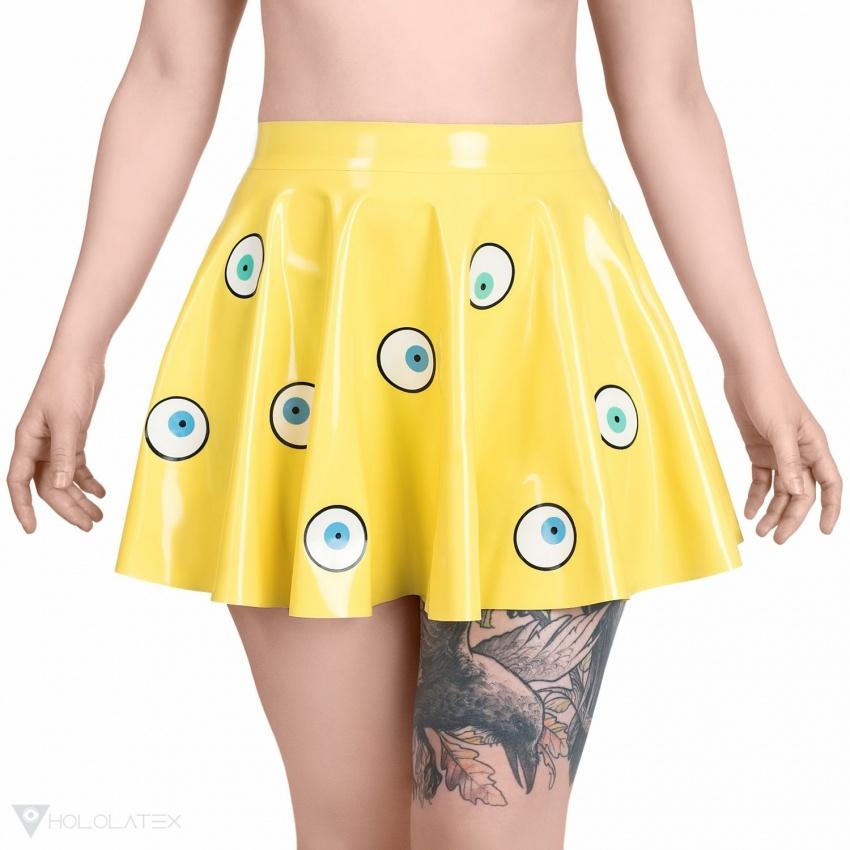 """Latex circle skirt """"Beholder"""""""