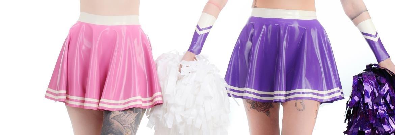Obrázek záhlaví pro kategorii - Latexové sukně