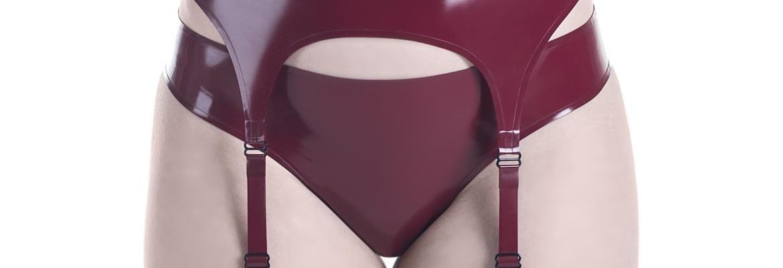 Header image for category - Latex garter belts